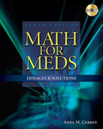 Math for Meds: Dosag…,9781428310957