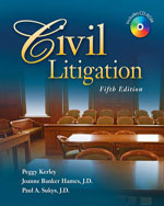 Civil Litigation, 5t…,9781428318397