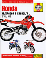 Honda XL/XR600R and …,9781563927140