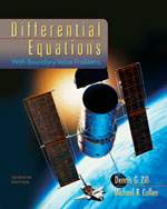 Differential Equatio…,9780495108368