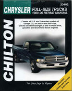 Chrysler Full-Size T…,9780801988479