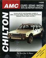 AMC Coupes, Sedans, …,9780801990755