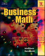 Business Math, 16th …,9780538440523