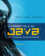 Fundamentals of Java…,9780538744928
