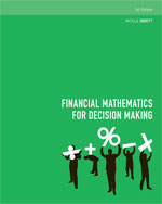Finance textbooks and ebook textbooks cengagebrain financial mathematics for decision making 1st edition fandeluxe Images