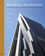 Solutions Manual for Stickney/Weil/Schipper/Francis' Financial Accounting: An Introduction to Concepts, Methods and Uses, ISBN-13: 978-0-324-78901-0