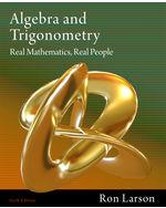 Algebra and Trigonom…, 9781111428426