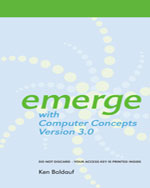 Bundle: Emerge with …,9781133263623