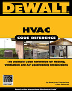 DEWALT® HVAC Code Re…,9780977718382