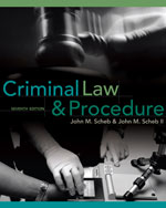 Criminal Law and Pro…,9780495809814