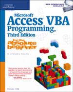 Microsoft® Access VB…, 9781598633931