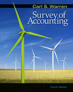 Survey of Accounting…, 9780324658262