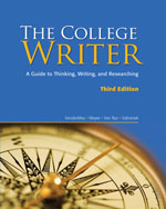 The College Writer: …,9780547147826