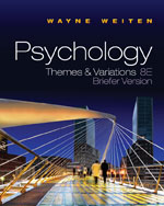 Psychology: Themes a…,9780495813101