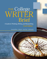 The College Writer: …, 9780495915829