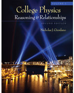 College Physics, Vol…,9781111570958