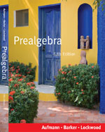 Prealgebra, 5th Edit…,9780618956883