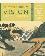 The Enduring Vision:…,9781111841034