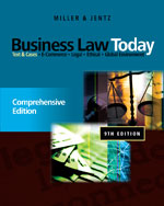 Business Law Today: …,9780538452809