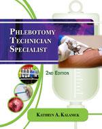 Phlebotomy Technicia…, 9781435486447