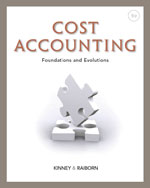 Cost Accounting: Fou…,9781111971724