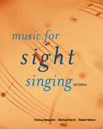 Music for Sight Sing…, 9780495505006