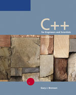 C++ for Engineers an…,9780534993801
