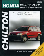 Honda CRV and Odysse…,9780801993138