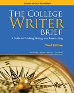 The College Writer: …,9780495803423