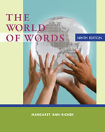 The World of Words, …,9781133586845