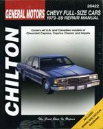 GM Chevrolet Full-Si…,9780801985317
