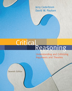 Critical Reasoning, …,9780495808787