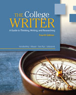 The College Writer: …,9780495915836