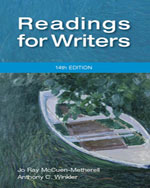 Readings for Writers…,9781111837068