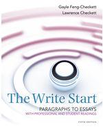 The Write Start, Par…,9781285175140