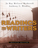 Readings for Writers…,9781413016291