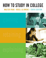 How to Study in Coll…,9781439084465