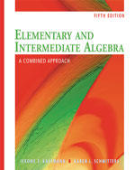 Elementary and Inter…,9780495553458