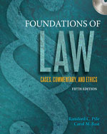 Foundations of Law: …,9781435440845