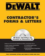 DEWALT® Contractor's…,9780977718320
