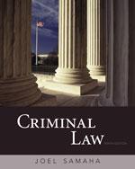 Criminal Law, 10th E…,9780495807490