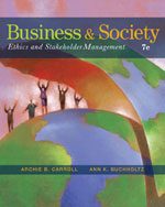 Business and Society…, 9780324569391