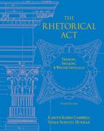The Rhetorical Act: …, 9780495091721