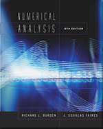 Numerical Analysis, …,9780534392000