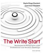 The Write Start: Sen…, 9781111350277