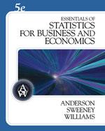 Essentials of Statis…, 9780324568608