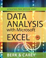 Data Analysis with M…, 9780495391784
