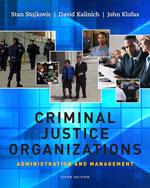 Criminal Justice Org…, 9781111346904