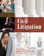 Civil Litigation, 6t…, 9781111312220