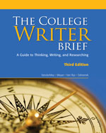 The College Writer: …, 9780547147802
